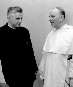 Ratzinger qui Congar,