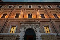 Cesi Palace facade