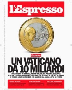 Vaticano expressa por dez bilhões