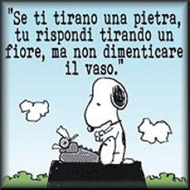 Snoopy: dar alotra mejilla