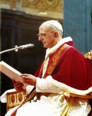 Paulo VI 7 Dezembro 1965 fechando o conselho
