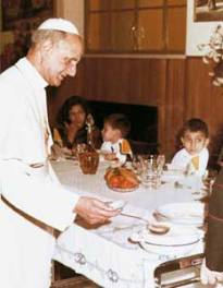Paul VI kids dining cribs contest winners 30 January 1966