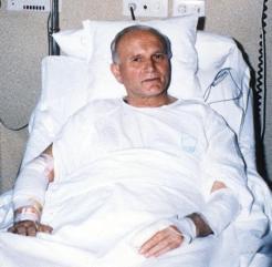 bombardeo de Juan Pablo II