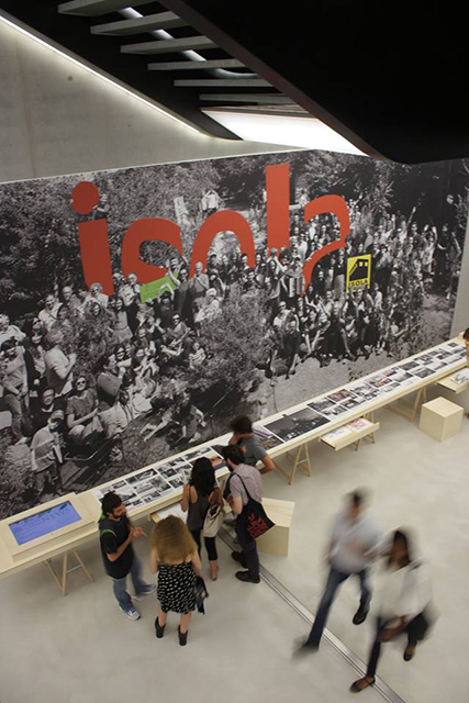 MAXXI, Roma, Isola Art Center, The Independent, installazione (foto: Giulia Cipriani)