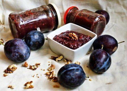 59113 | Вкуснейшее сливовое варенье по-грузински с орехами и корицей. Потрясающий конфетный вкус!