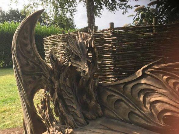 90-3 | Удивительные работы Игоря Лоскутова. А вы бы хотели присесть на такую скамью?