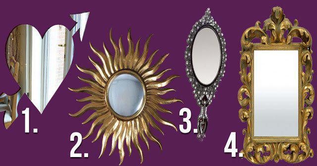 zerkalo1 | А какое зеркало выберешь ты? Небольшой тест для милых дам!