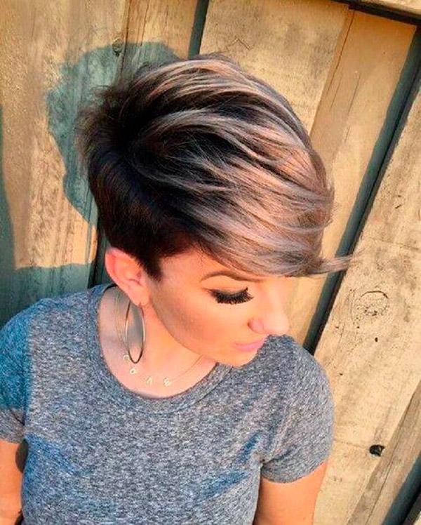 15-25 | Модные прически на короткие волосы и волосы средней длины