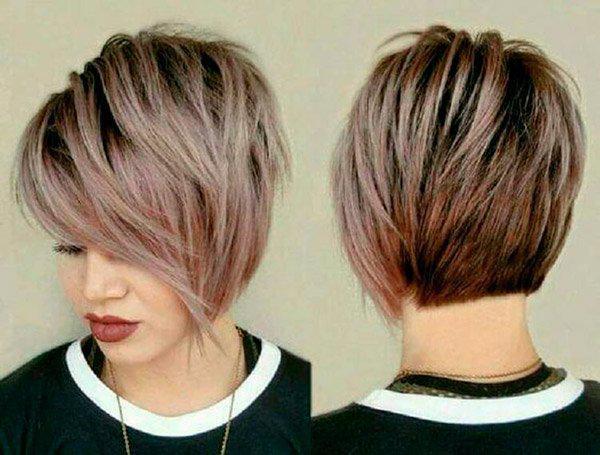 6-52 | Модные прически на короткие волосы и волосы средней длины