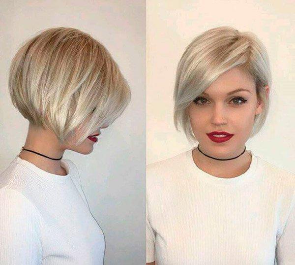 9-40 | Модные прически на короткие волосы и волосы средней длины