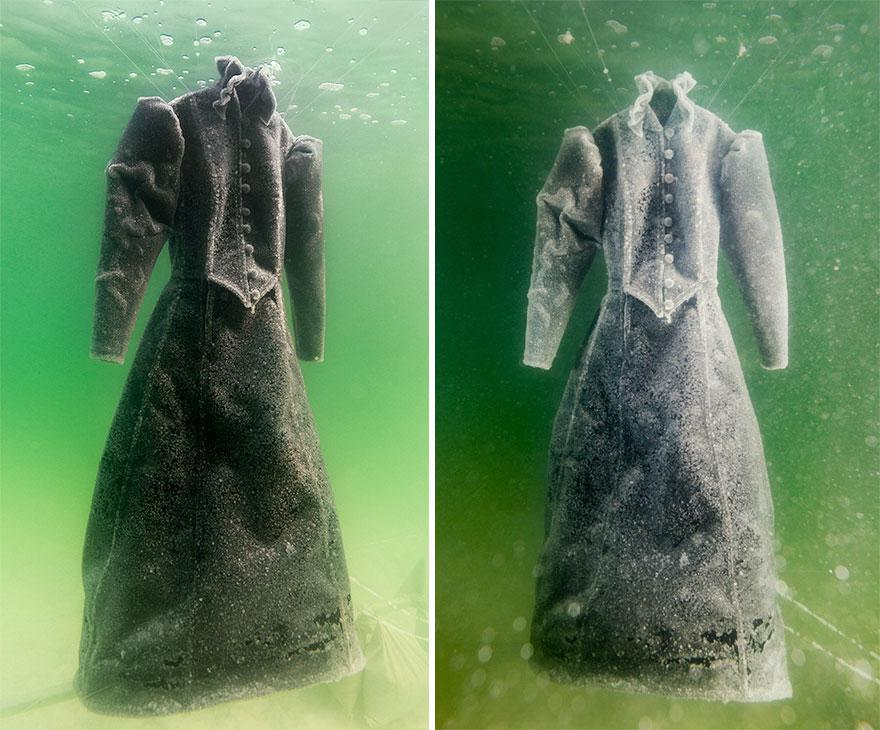 plate-v_eccbc87e4b5ce2fe28308fd9f2a7baf3 | Девушка оставила платье в Мертвом море на два года... Зачем она это сделала?