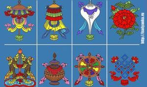 Восемь символов, которые приносят удачу и здоровье.