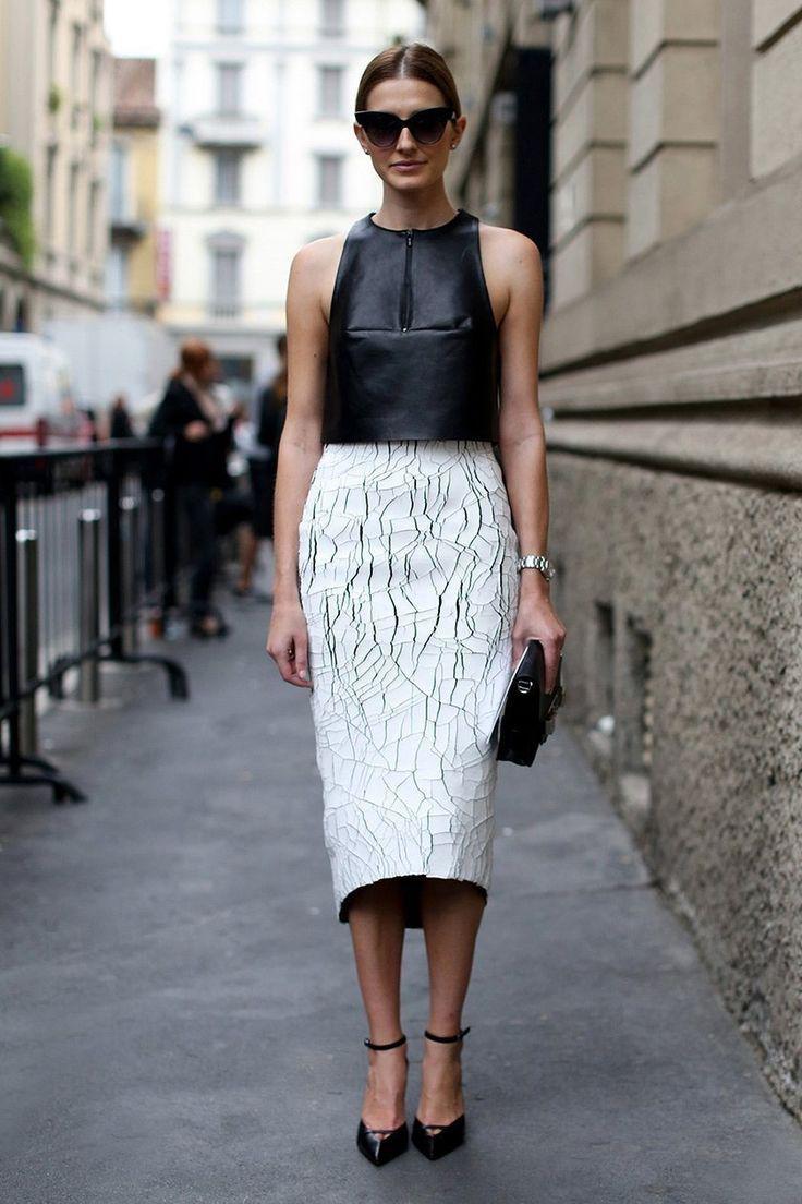 image11-25   27 стильных образов с юбками, которые заставят вас позабыть о брюках!