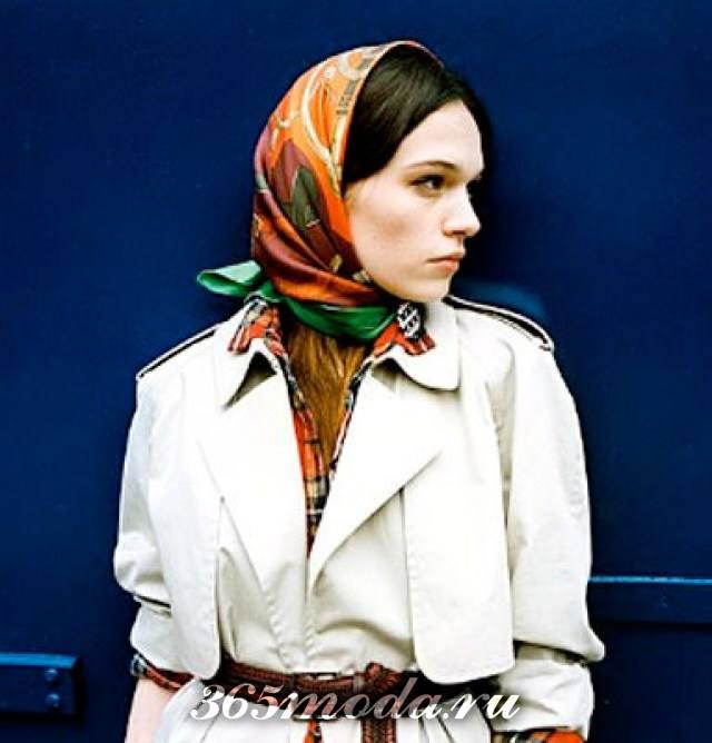 image12-7 | Как красиво повязать платок зимой — стильные образы в холодное время года!