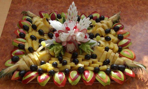 image13-30 | Простые, но красивые варианты фруктовой нарезки