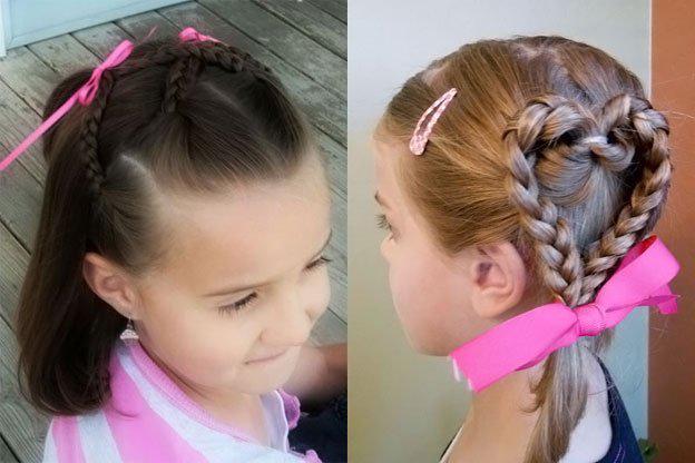 image14-10   Для маленьких принцесс: 35 шикарных причесок на короткие волосы!