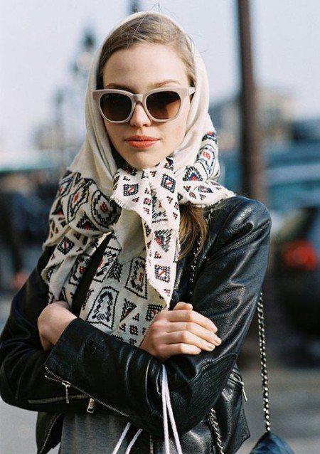 image15-5 | Как красиво повязать платок зимой — стильные образы в холодное время года!