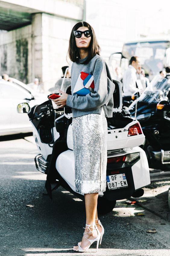 image19-7   27 стильных образов с юбками, которые заставят вас позабыть о брюках!