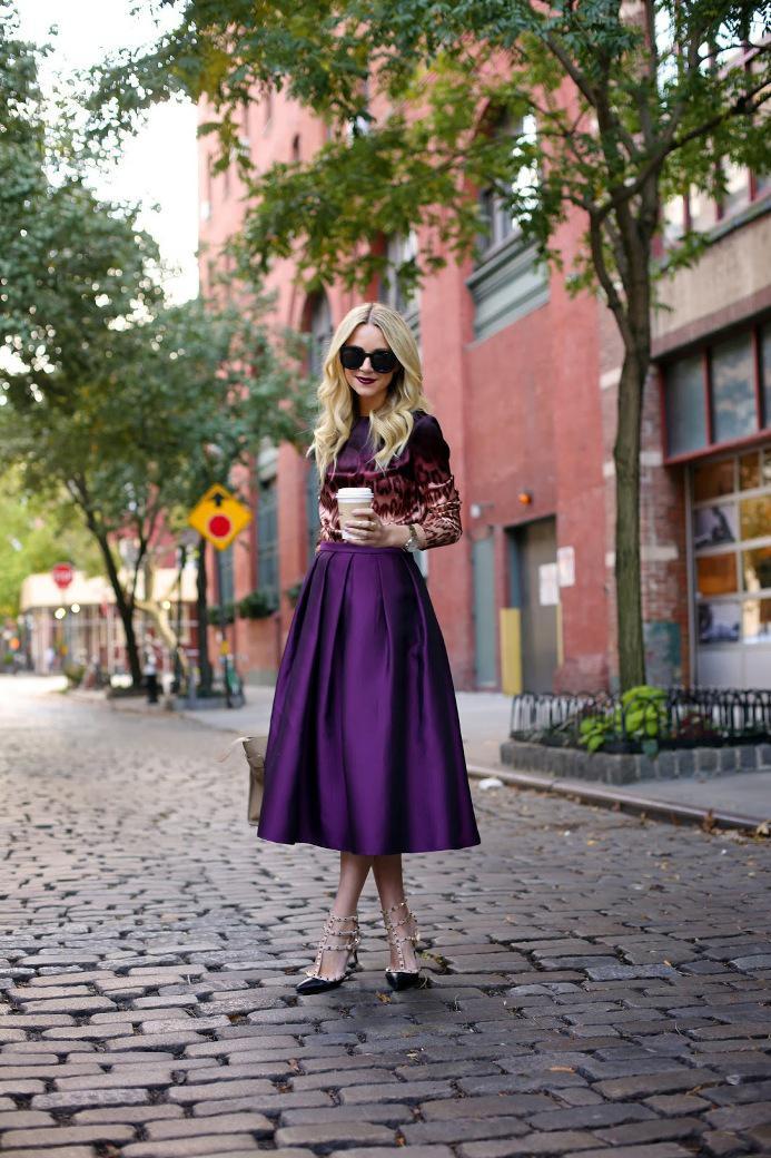 image20-6   27 стильных образов с юбками, которые заставят вас позабыть о брюках!
