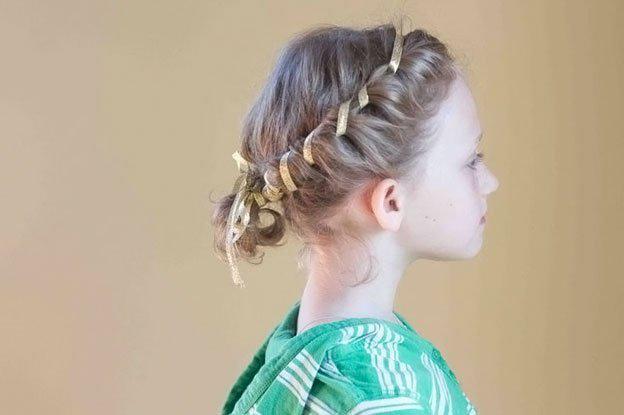 image21-2   Для маленьких принцесс: 35 шикарных причесок на короткие волосы!