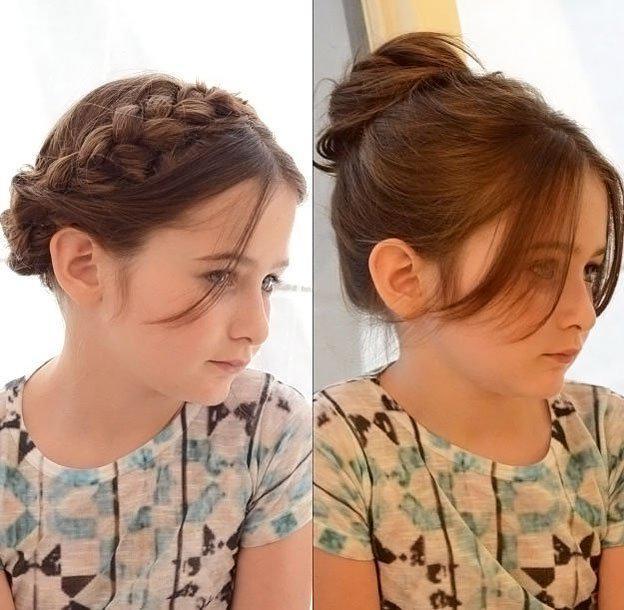 image22-2   Для маленьких принцесс: 35 шикарных причесок на короткие волосы!