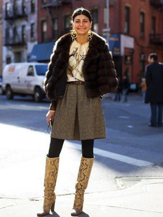 image22-4   27 стильных образов с юбками, которые заставят вас позабыть о брюках!