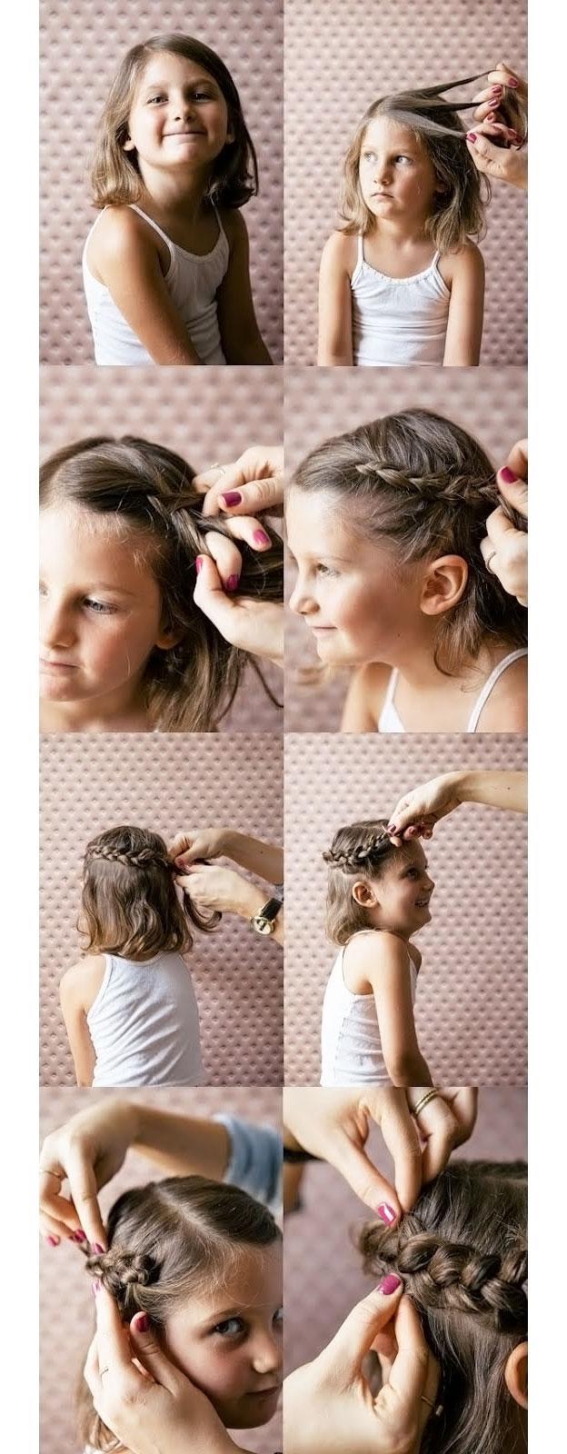 image24-1   Для маленьких принцесс: 35 шикарных причесок на короткие волосы!