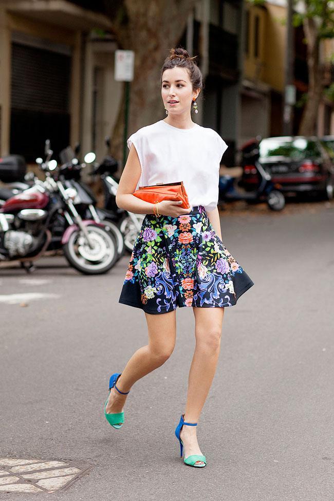 image27-1   27 стильных образов с юбками, которые заставят вас позабыть о брюках!