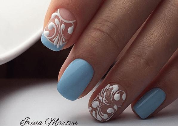 image35-1 | 35 самых лучших вариантов пастельного nail art