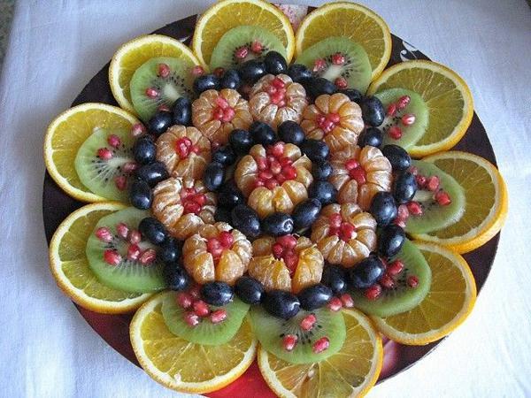 image4-107 | Простые, но красивые варианты фруктовой нарезки