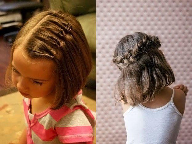 image4-44   Для маленьких принцесс: 35 шикарных причесок на короткие волосы!