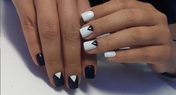 image7-2 | Черно-белая классика: идеи маникюра для элегантных девушек
