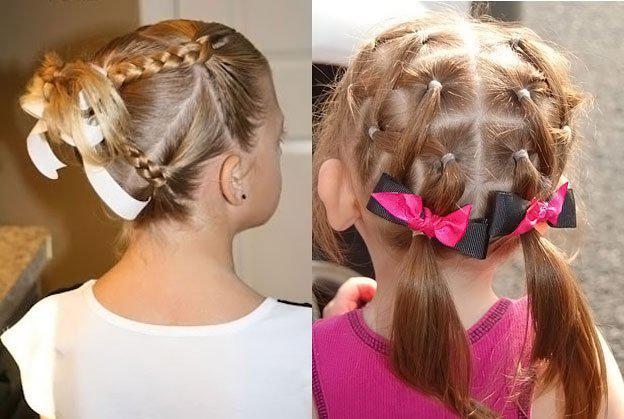 image7-30   Для маленьких принцесс: 35 шикарных причесок на короткие волосы!