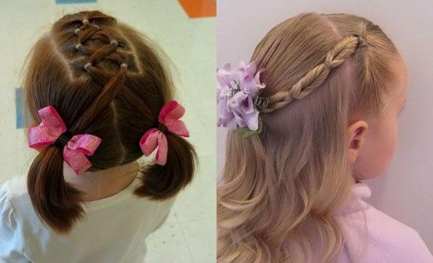 image9-21   Для маленьких принцесс: 35 шикарных причесок на короткие волосы!