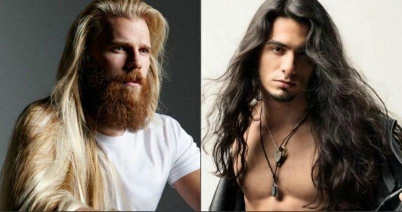image1-194 | Модные мужские стрижки на длинные волосы 2018