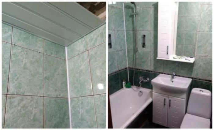 image10-3   Сын отремонтировал матери ванную комнату... Любо-дорого!