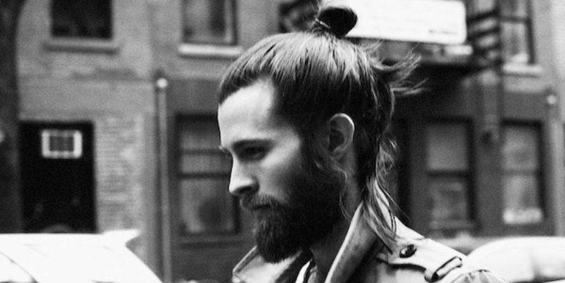 image100 | Модные мужские стрижки на длинные волосы 2018