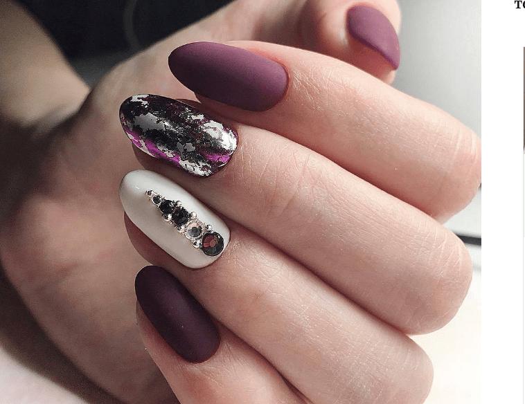 image12 | Модно и дорого: 25 идей роскошного ногтевого дизайна