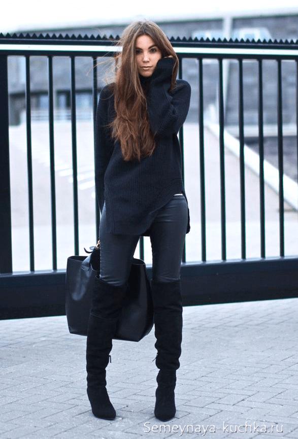 image17-2   Модные сапоги и как создать стильные образы с ними