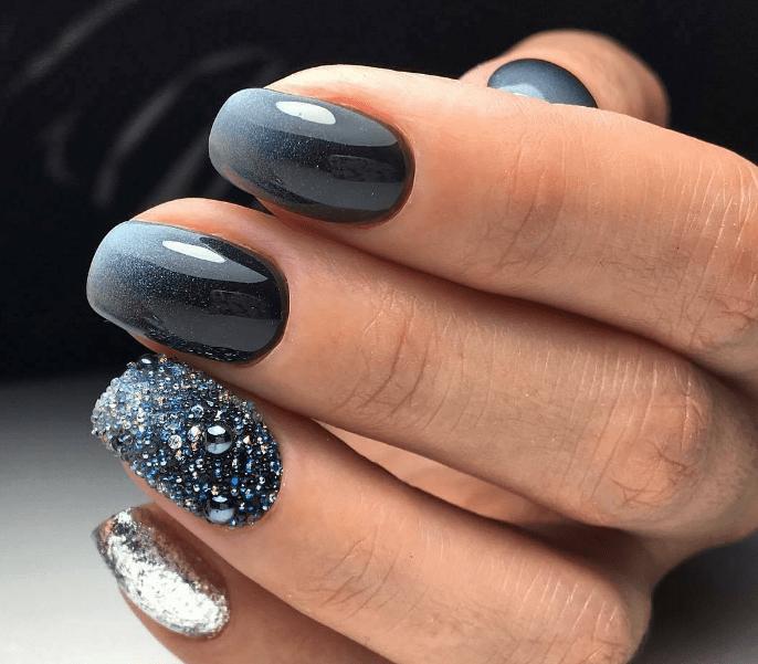 image17 | Модно и дорого: 25 идей роскошного ногтевого дизайна