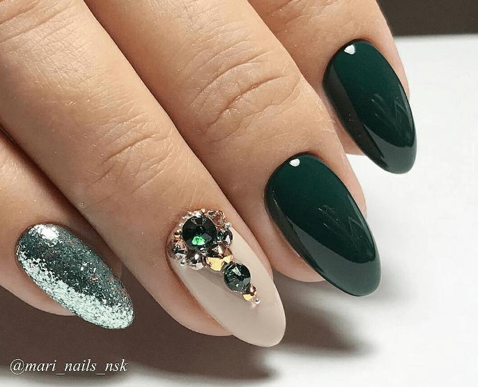 image22 | Модно и дорого: 25 идей роскошного ногтевого дизайна