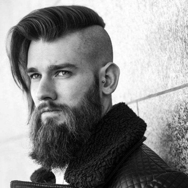 image23-26 | Модные мужские стрижки на длинные волосы 2018
