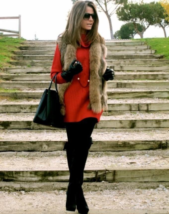 image23-35   Модные сапоги и как создать стильные образы с ними