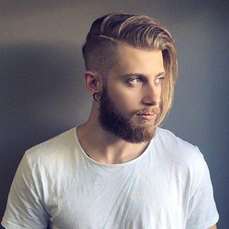 image28-15 | Модные мужские стрижки на длинные волосы 2018