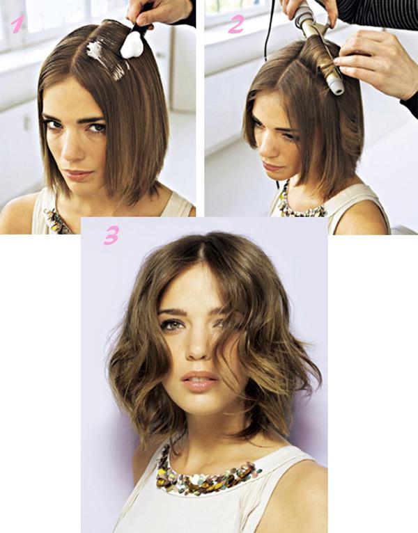 image3-89   Стильные укладки на короткие волосы 2018
