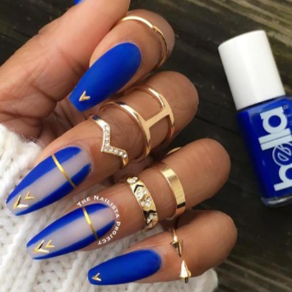 image35-1 | Красивые ногти с украшениями на весну-лето 2018