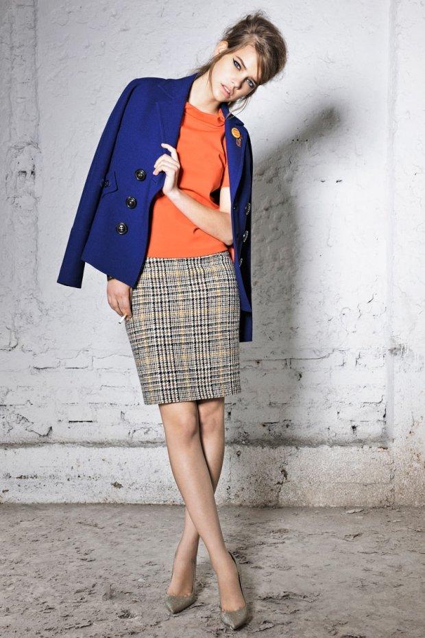image4-92 | 20 стильных образов с юбкой и жакетом для деловых леди