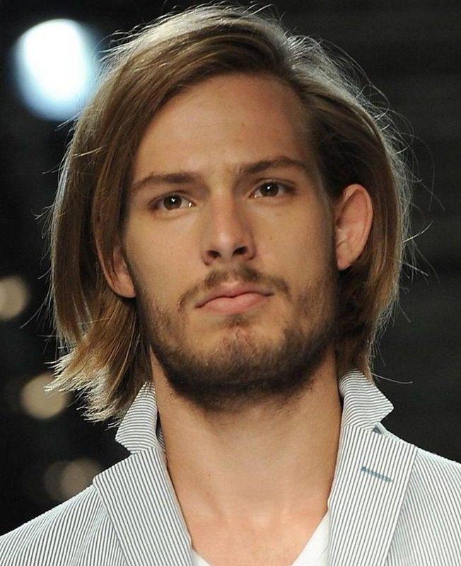 image55 | Модные мужские стрижки на длинные волосы 2018
