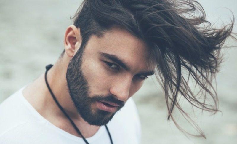 image60-1 | Модные мужские стрижки на длинные волосы 2018