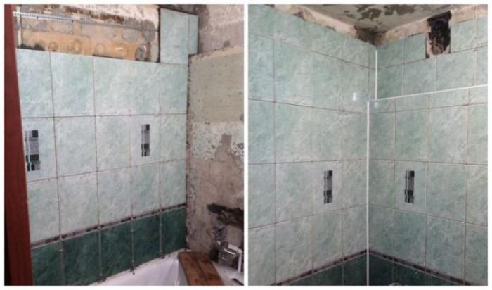 image8-3   Сын отремонтировал матери ванную комнату... Любо-дорого!